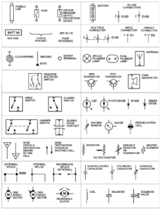 automotive wiring diagram symbols engine misfire rh engine misfire com car electrical wiring diagram symbols Wiring Diagram Symbols and Their Meanings