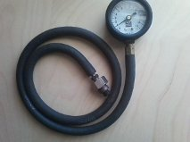 exhaust back pressure tester